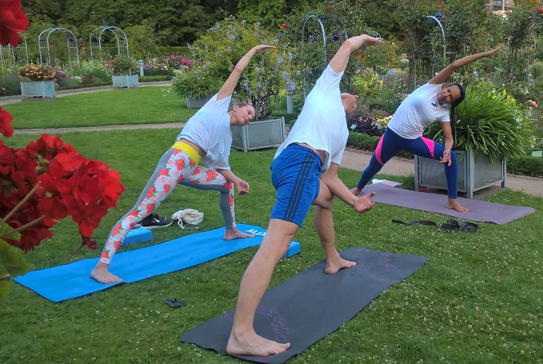 Yoga com australiana