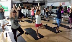 Equilíbrio  com yoga