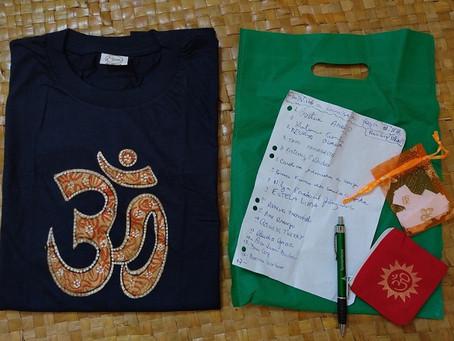 Sorteio de uma camiseta da Índia