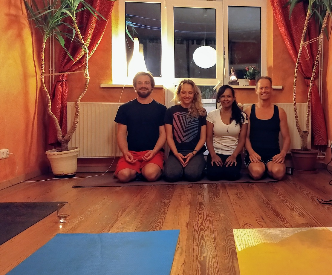 Recodacion Prática de Yoga na Alemanha