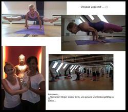 Yoga com a professora Karen