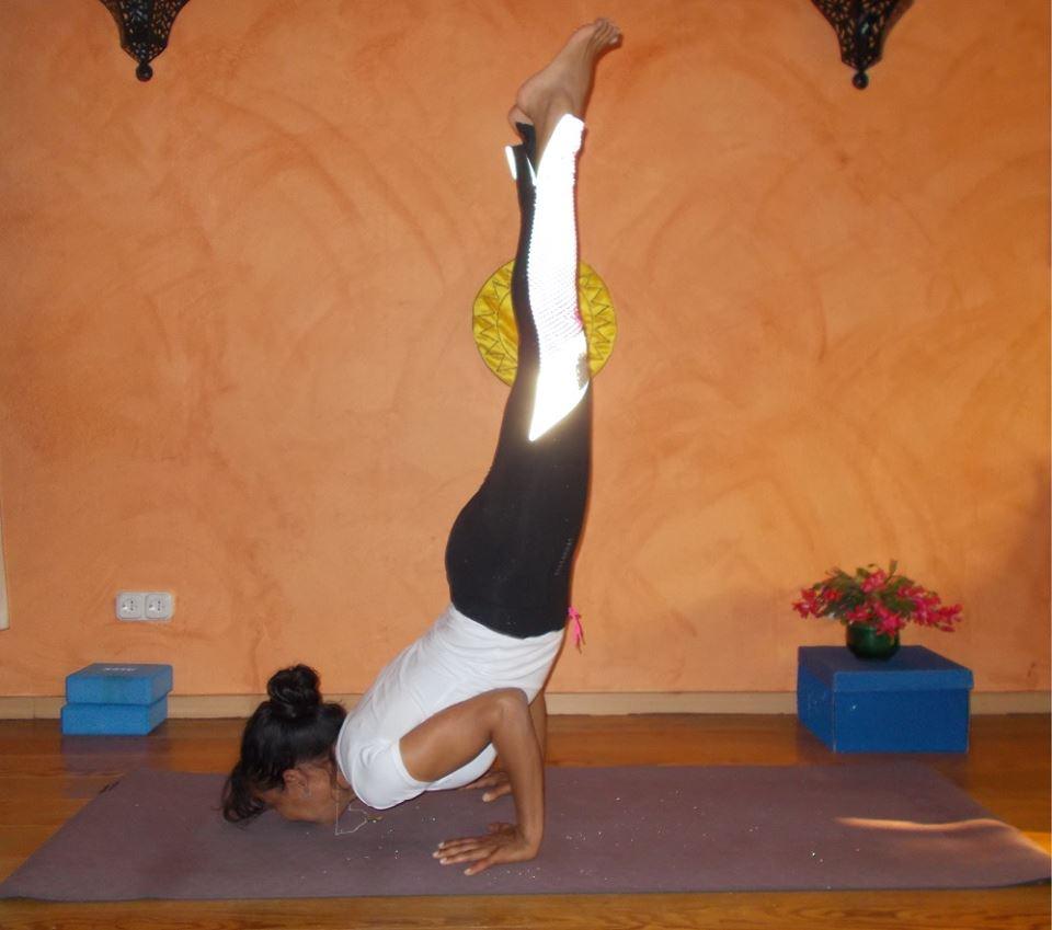 yoga para trabalhar equilíbrio