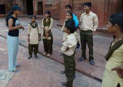 Na Índia com Sílvia Yogini