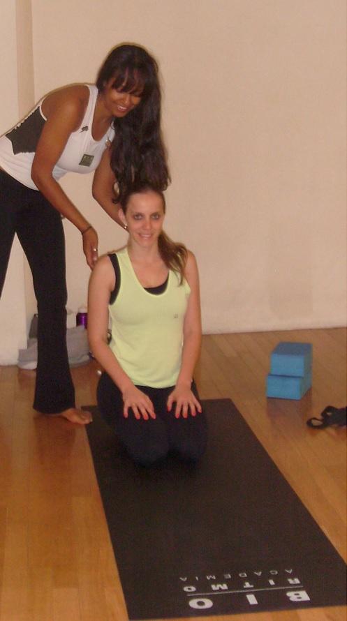 Aula de yoga na Bio Ritmo