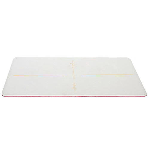 CLESIGN HEARTBEAT WHITE YOGA MAT