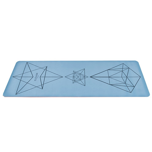 CLESIGN COLONIAL BLUE YOGA MAT