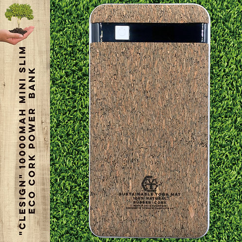 10000mAh Mini slim ECO CORK Power  Bank - Cherry Color, Morocco™ 純手工環保充電器