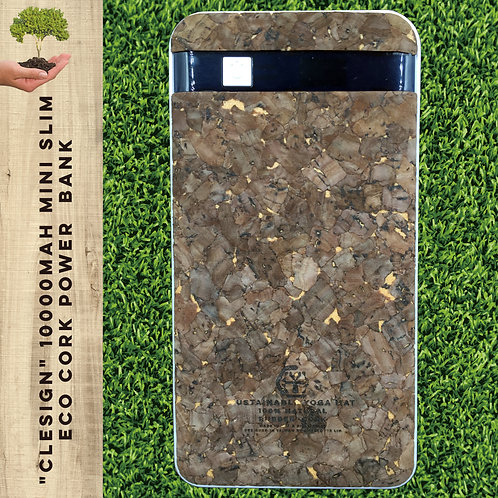 10000mAh Mini slim ECO CORK Power Bank - Algeria Cork™ 純手工環保充電器