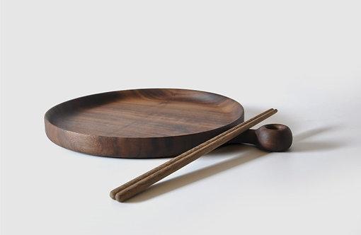 High quality black walnut Wooden chopsticks 純手工製作