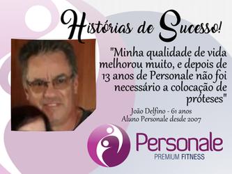 João Delfino - História de Sucesso
