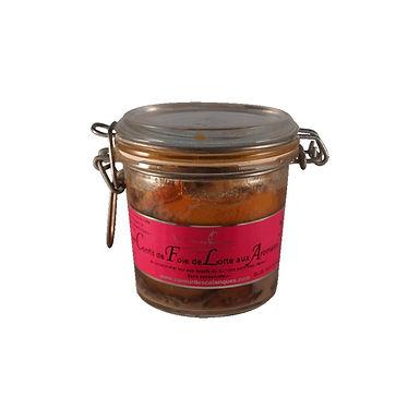 🇫🇷 CONFIT DE FOIE DE LOTTE à l'huile d'olive AOP   180g