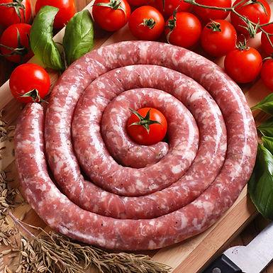 🇫🇷  SAUCISSE FRAÎCHE roulée de Porc Lou Teychou Aveyron 1kg
