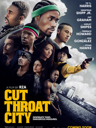 Cut Throat City Official Poster and Trailer