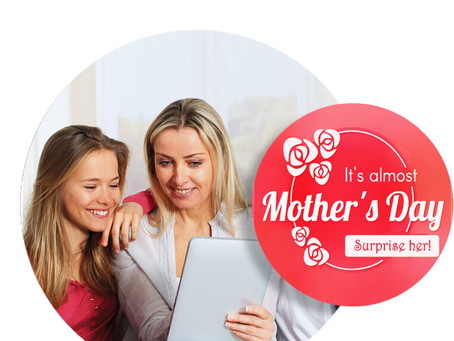 Gift Mom a virtual vacation for Mother's Day!