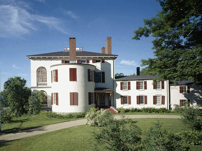 Castle Tucker Exterior. Credit Historic