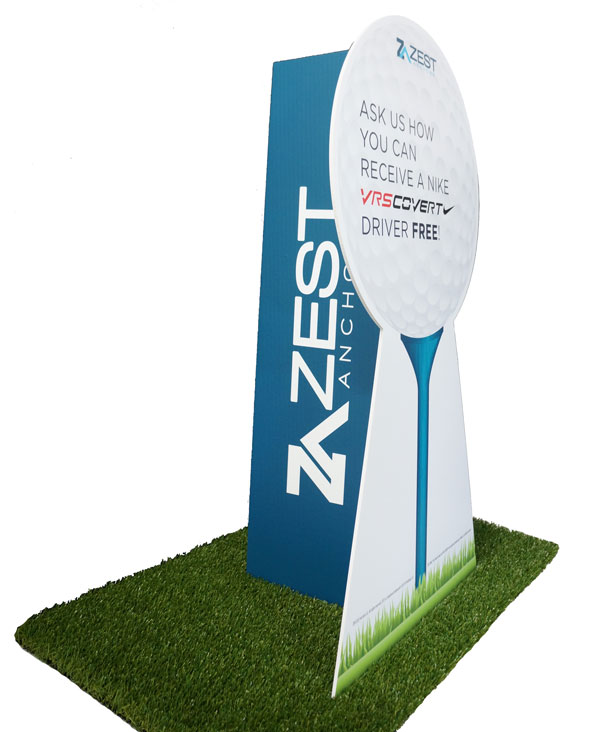 Cutout-Standee-Golf