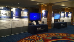 MC Booth with Retractables