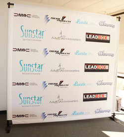 Banner Stand Step & Repeat