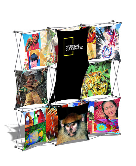 Xpressions Fabric Popup Display