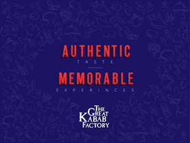 Authentic Taste, Memorable Experience