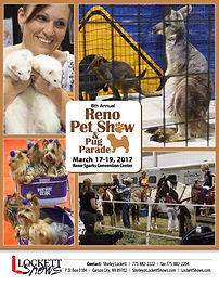 2017 Reno Pet Show and Pug Parade
