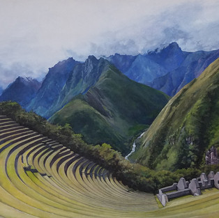 Virginia Zimmermann, Winay Huayna Peru, Oil