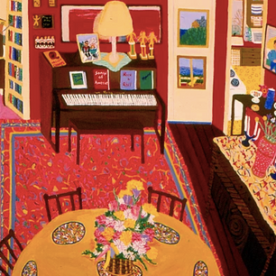 ANN C. ROSEBROOKS Medium: Acrylic