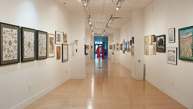 A recent Annual National Open Juried Exhibition, Photo by CWA Member Pauletta De Lucia. The Barnes-Franklin Gallery of Farmington, Connecticut.