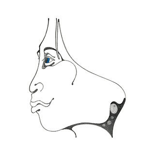 Kathleen Zimmerman, WoMan Series, Serigraph