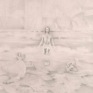 Nancy L. Greco, Totem Goddess, Drawing
