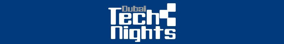 Dubai Tech Nights blue