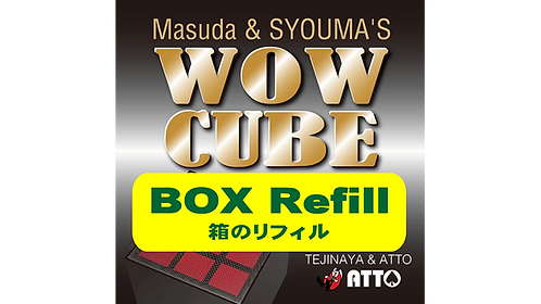 WOW CUBE REFILL BOX by Tejinaya Magic