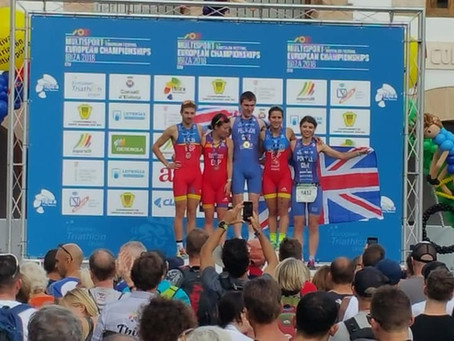 OUTriC alumnus wins gold at European Duathlon Championships