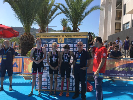 OUTriC member Lucy Farqhuar gets silver at ETU European Championships