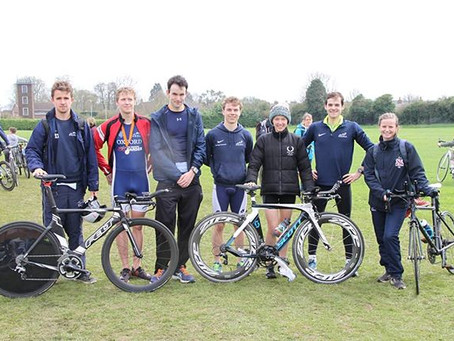 OUTriC dominate at Bicester Triathlon
