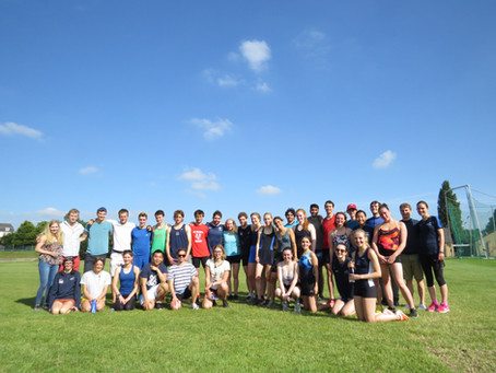 Brasenose are victorious at Cuppers Aquathlon