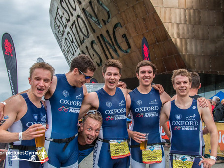 OUTriC race well at Cardiff Triathlon