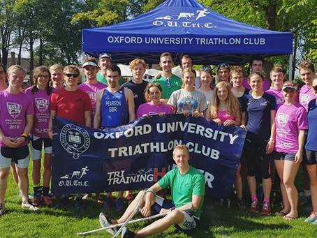 Stunning performances despite sweltering heat at BUCS Sprint Triathlon