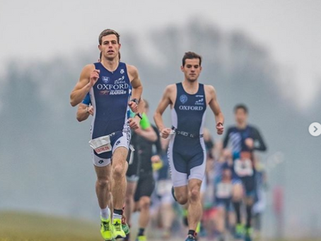 Oxford men come away victorious from Varsity Duathlon!