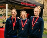 OUTriC get Women's Bronze at BUCS Sprint