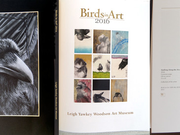 Artwork selected for 2016 Birds in Art Tour