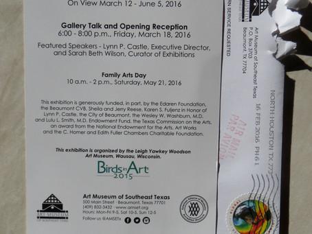 Birds in Art Tour Invite