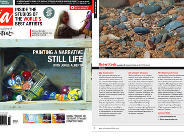 International Artist Magazine Finalist