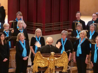 The Yorkshire Philharmonic Choir Conquers Scotland (well, a couple of bits of it!)