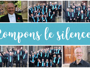 Rompons le silence (break the silence)… Yorkshire Philharmonic Choir are back in training for their