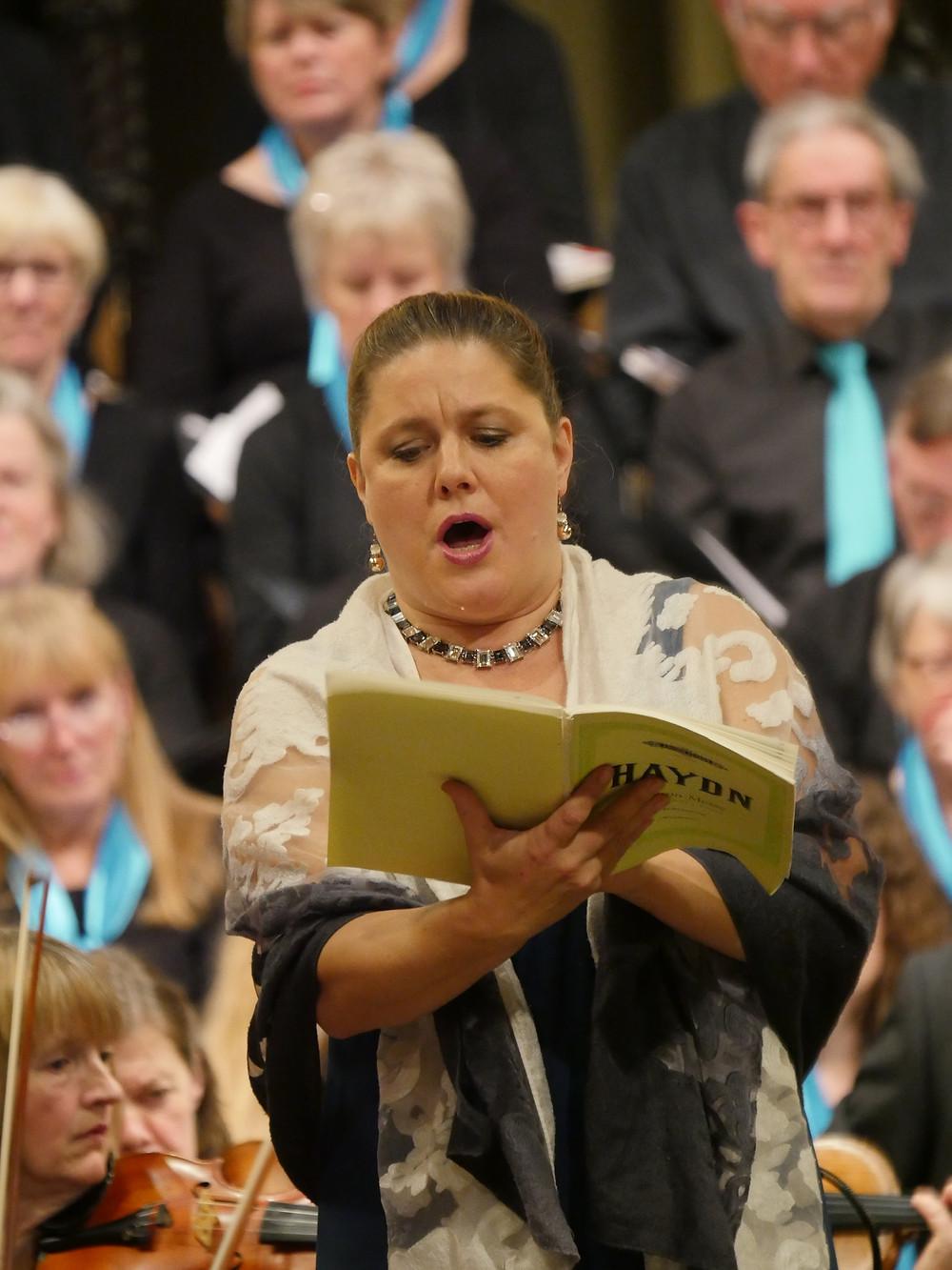 Alto soloist, Anna Burford