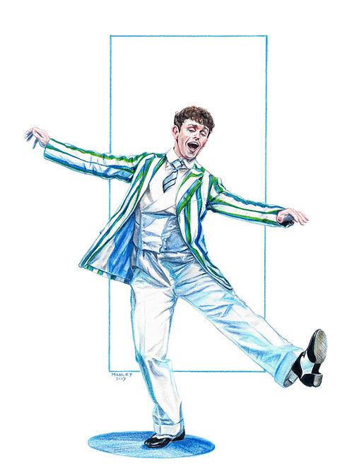 Charlie Stemp as Arthur Kipps in Half a Sixpence