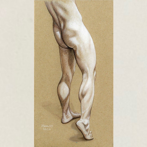 Nick Statue A5 print