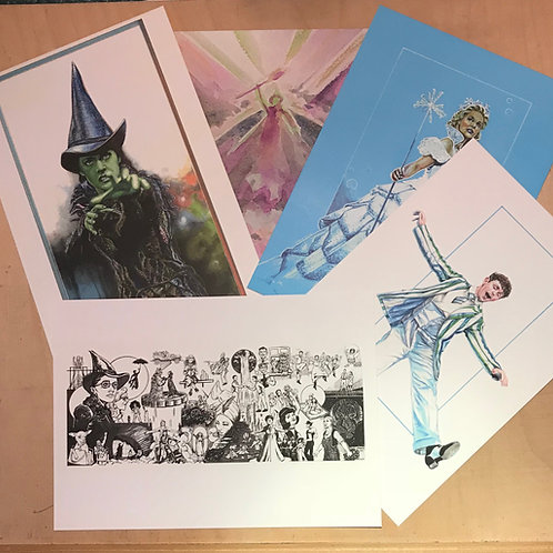 A5 Art Card print - 3 for £12
