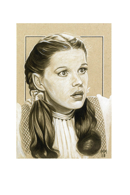 Judy Garland A5 Art Card